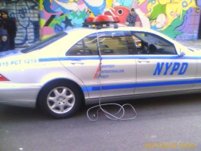 nypd police mercedes benz patrol cars nyc 2