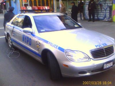 nypd police mercedes benz patrol cars nyc