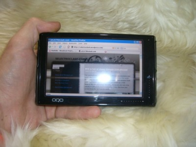 oqo model 02 2 ultra mobile pc hands on pics video mac harris selectroclash