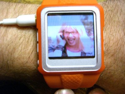 mp4 wrist watch pictures video radio 2gb demo kelly shoes