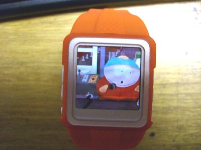 mp4 wrist watch pictures video radio 2gb demo south park mac