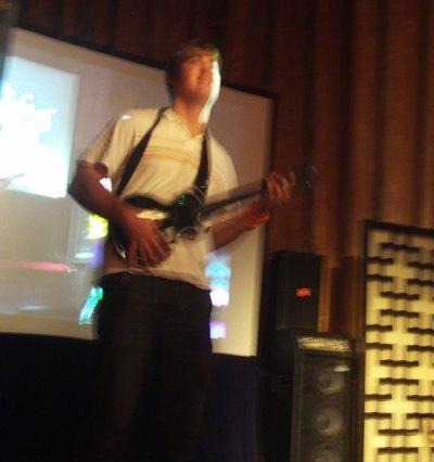 Guitar Hero III pre-Launch Party in TimesSquare