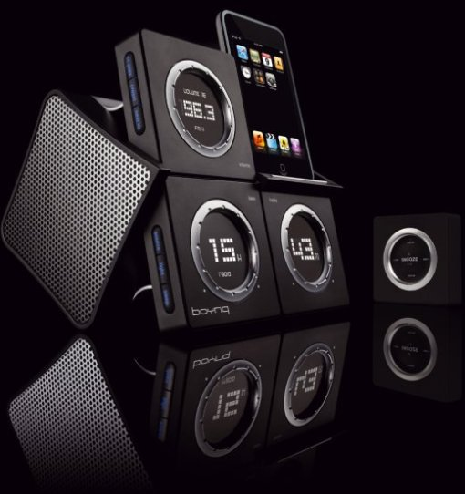Boynq WakeUp iPod speakersystem