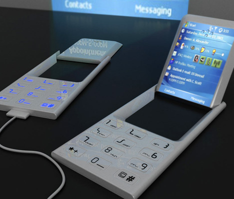 projector handheld cellphone future concept
