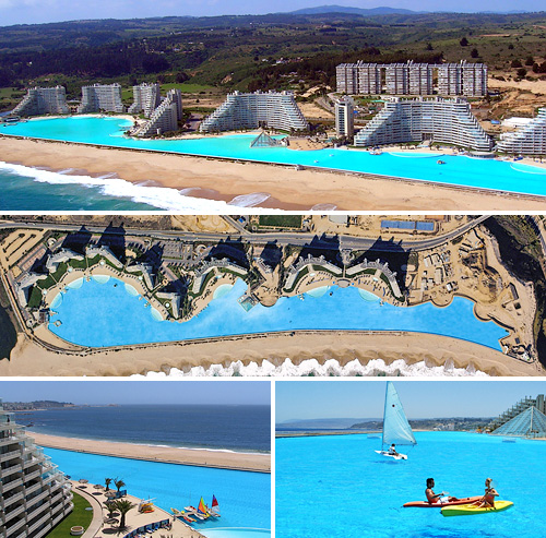 World s largest swimming pool is 1 km long blog - Longest swimming pool in the world ...