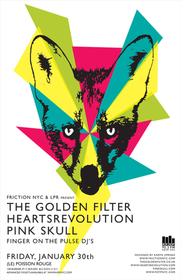 HeartsRevolution at Le Poisson Rouge in NYC Jan 30